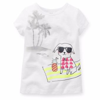 Carter's Cap Sleeve Tee - Summer Pup (5 Years) Price Philippines