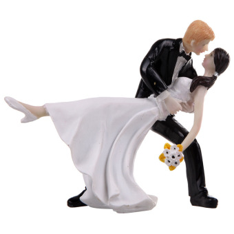Cute Bride Groo Coupe Tango Dancing Rein Toy Wedding Cake Decoration Price Philippines
