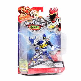 Harga Power Rangers DSC 12cm Dino Steel Blue Ranger Action Figure