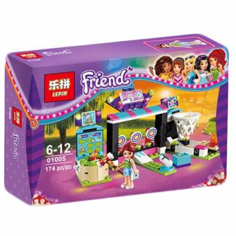 Harga LEPIN 01005 Friends Amusement Park Arcade Building Toy