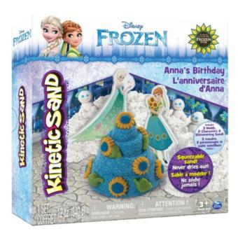 Harga Kinetic Sand Frozen Character Playset 12Oz