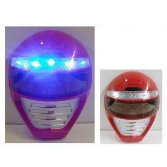 Harga Light up Power Rangers Mask Unique Kids Dress up Role Play Cosplay Costume Pretend Play Power Rangers Red Power Ranger Universal Size Light up LED Mask - intl