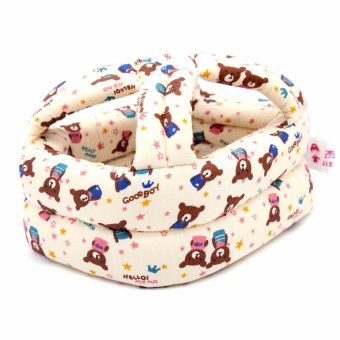 Unicorn Baby Safety Cap Toddler Anti Bumps Sponge Helmet (Brown) Price Philippines