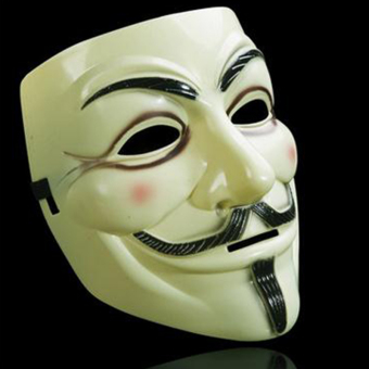 Harga V Face Mask for Vendetta Mask Film Guy Fawkes Fancy Cosplay Anonymous Halloween Masks Fancy Dress Costume