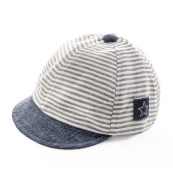 Newest Summer Newborn Baby Hat Kids Cap Infant Baby Hat for Boys and Girls-gray Price Philippines