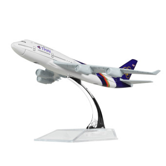 THAI Airlines Boeing 747 16cm Airplane Models Birthday Gift Plane Models Toys Price Philippines