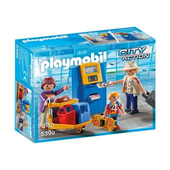 Harga Playmobil City Action Family At Check-In