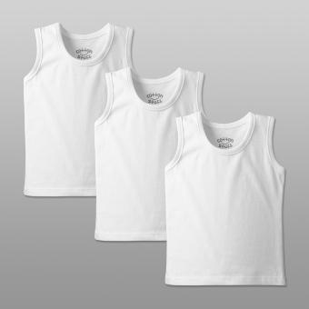 Cotton Stuff - 3-piece Sando (White) Price Philippines