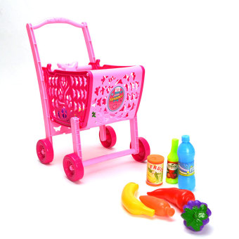 NO-7621-6 Detachable Shopping Go Cart (Pink) Price Philippines