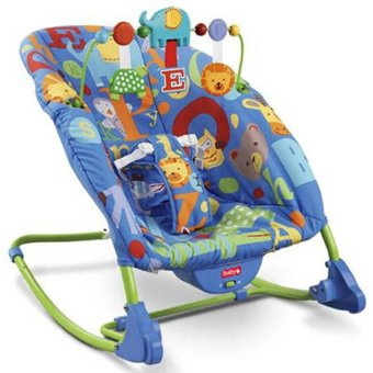 iBaby 68122 Deluxe Infant-to-toddler Baby Rocker (Blue) Price Philippines