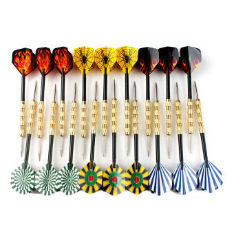 Allwin New 18pcs Steel Tip Dart Darts With Nice Flight Flights Throwing Toy Price Philippines