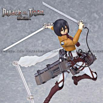 Harga Attack on Titan (Shingeki No Kyojin) Mikasa Ackerman Full Maneuver Gear Collectible Action Figure