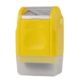 Harga Kuhong 1PC Office Plus Guard Your ID Roller Stamp SelfInking Stamp Messy Code Security - intl