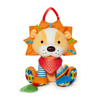 Harga Baby Bandana Buddies Multi-Sensory Soft Plush Toy,Rattle Toy, Lion - intl