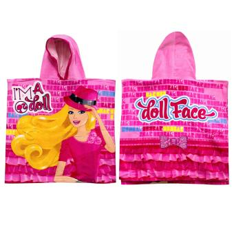Barbie Cotton Hooded Towel Price Philippines