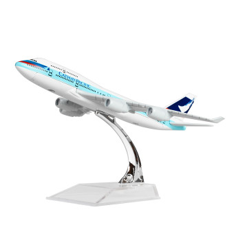 Hong Kong Cathay Pacific Boeing 747 16cm Metal Airplane Models Child Birthday Gift Plane Models Home Decoration - Intl Price Philippines