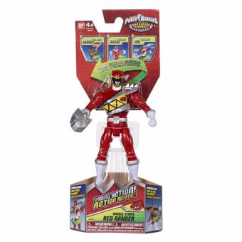 Harga Power Rangers Dino Charger Spinning Action Red Ranger Action Figure