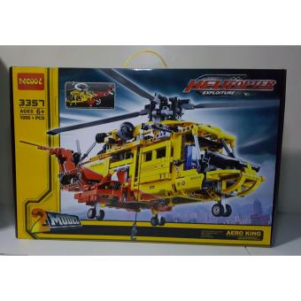 Decool Helicopter Exploiture Building Blocks 2 In 1 Models (Yellow) Price Philippines