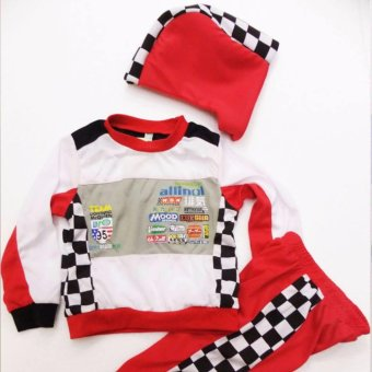 Kids Car Racer Lightning Mcqueen Costume (7 Years Old) Price Philippines