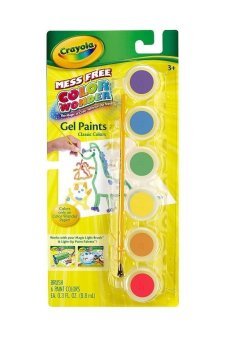 Crayola Color Wonder Gel Paints Classic Colors (Multicolor) Price Philippines