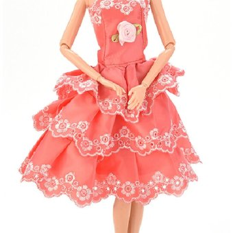 Jetting Buy Doll Dress Clothes Gown For Barbies for Kids Price Philippines