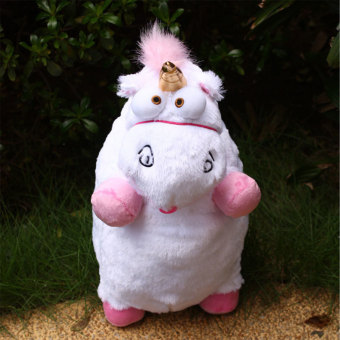 Harga 1Pcs Despicable Me Fluffy Unicorn Soft Plush Doll Gifts Home For Kid Children - intl