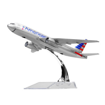 New American Airlines Boeing 777 16cm Metal Airplane Models Child Birthday Gift Plane Models Home Decoration - intl Price Philippines