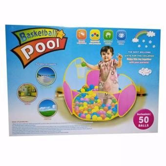 Basketball Pool with 35pcs Color Ball Toy Set Price Philippines