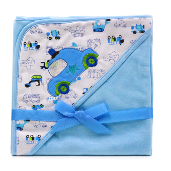 BABY STEPS Car Rides Baby Blanket (Blue) Price Philippines