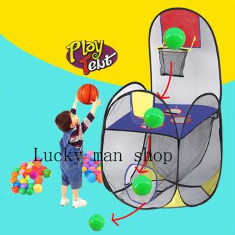 #0440 Ball Scoring Tent Children Play Tent Play House Basketball Basket Tent Beach Lawn Tent Ball Pool Indoor&Outdoor Sport Best Kid Toys Price Philippines