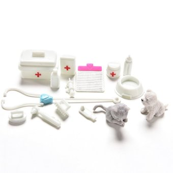 Amango Medical Supplies Doll Medical Toy for Barbie Accessories Girls Best Gifts 1Set Price Philippines