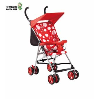 Happy Dino Buggy Lightweight Umbrella Stroller (Red) Price Philippines