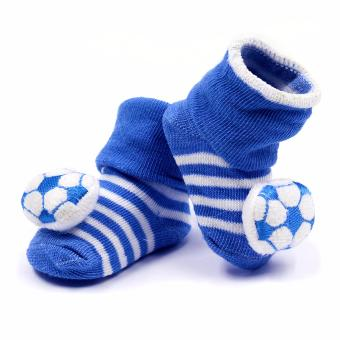 Baby Steps Football Baby Boy Socks (Blue) Price Philippines