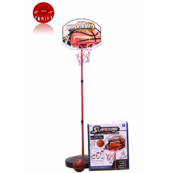 2177 Slamdunk Adjustable Children's Basketball Stand, Kids Portable Basketball Set Toy for Children Price Philippines