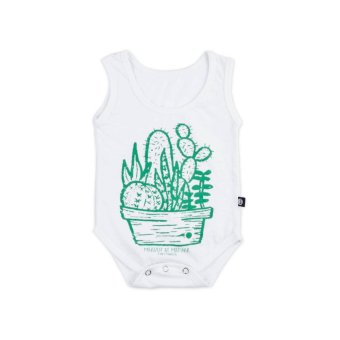 TINY MANILA Matinik Onesie (White) Price Philippines