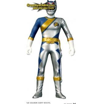 Harga Bandai 4543112702005 Gao Silver Soft Vinyl Bandai Power Rangers Wildforce Sentai ORIGINAL*