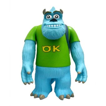 Harga Monster Inc. Loose Coin Bank (Light Blue and Yellow Green)
