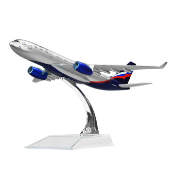 Aeroflot-Russian Airbus 330 16cm Metal Airplane Models Child Birthday Gift Plane Models Home Decoration Price Philippines