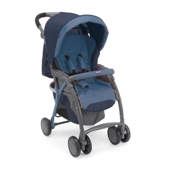 Chicco Simplicity Top Stroller (Blue) Price Philippines