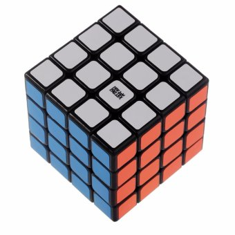 Harga Rubik's MoYu AoSu 4X4X4 Speed Cube Smooth Turning Fast 3D Puzzles Classic Toys YJ8212 Black Body