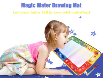 Harga Magic Water Drawing Writing Mat Toy with Watercolor Pen