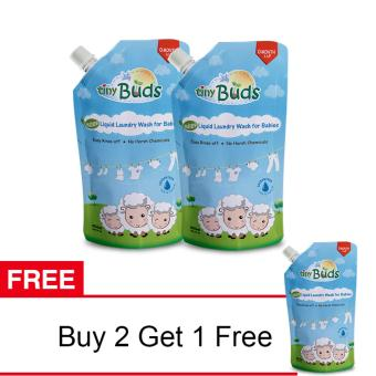 Harga SALE: Tiny Buds Liquid Laundry Wash Buy 2 Get 1 Free