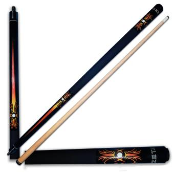 Harga Robson Billiard / Pool Zeta Mayan Cue Stick (Orange)