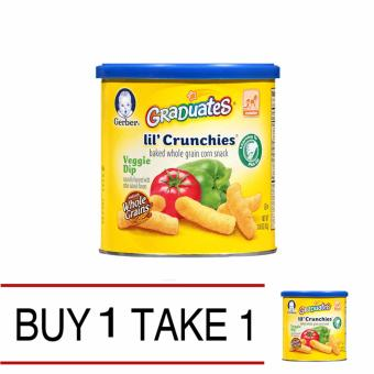 Harga Gerber Lil ' Crunchies Veggies Buy 1 Take 1