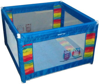 Baby 1st Square Foldable Playpen P-521D BLUE A Price Philippines