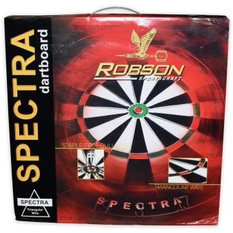 Harga Robson Spectra Dartboard (With Free Dart Pins)