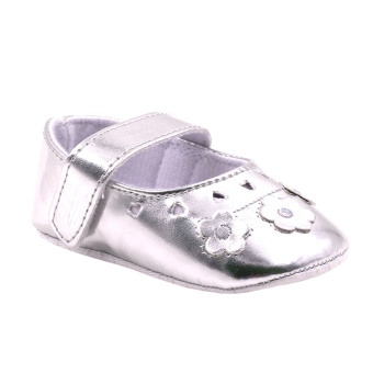 BABY STEPS Fragrance Baby Girl Sandals (Silver) Price Philippines