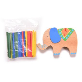 OEM Wooden Education Toys Elephant Camel - intl Price Philippines