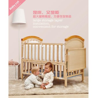 Happy Dino Baby Crib LMY643-K261 Price Philippines