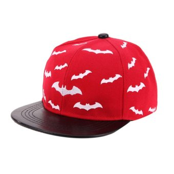 Baby Baseball Cap Children Boys Girls Snapback Cap Kids Hiphop Hats(Red) - intl Price Philippines
